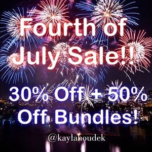 Other - Mark Your Calendars! Fourth of July Sale!🇺🇸